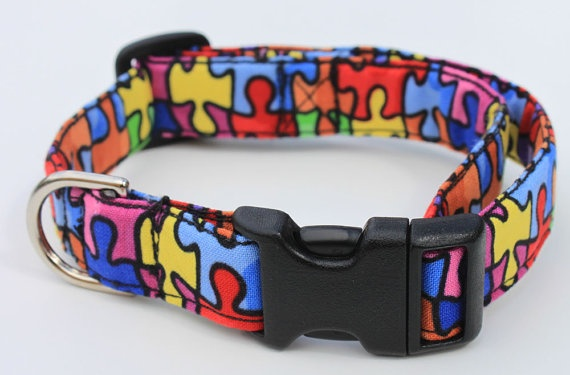 autism collar...even something for the kitty cats to wear to show support!