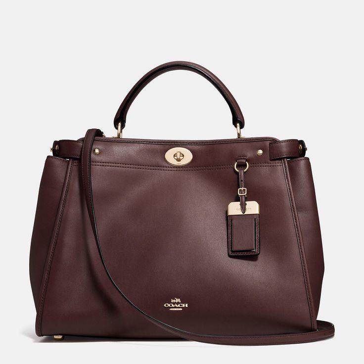 Coach Designer Handbags | Gramercy Satchel in Leather