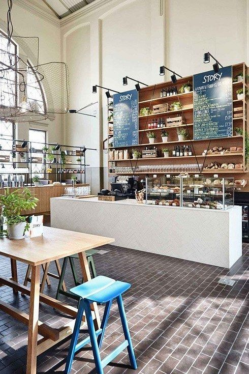 The epic windows at Story in Helsinki. | 31 Coffeeshops And Cafés You Wish You Lived In