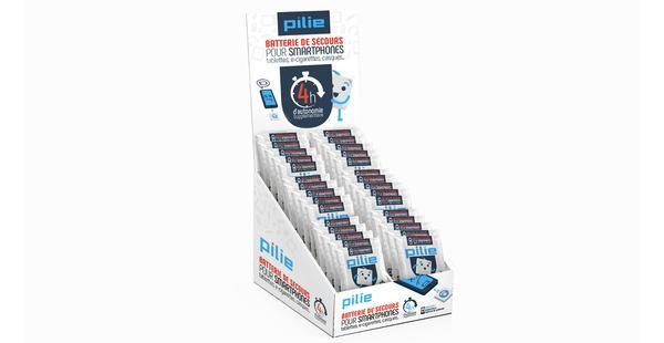 Pilie est une batterie de secours jetable pour smartphone, cigarette électronique, tablette. Elle vous ajoute 4H d'autonomie supplémentaire. Prenez une Pilie !