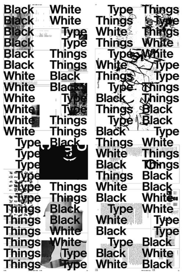 Black  White  Type  Things Bernd Kuchenbeiser