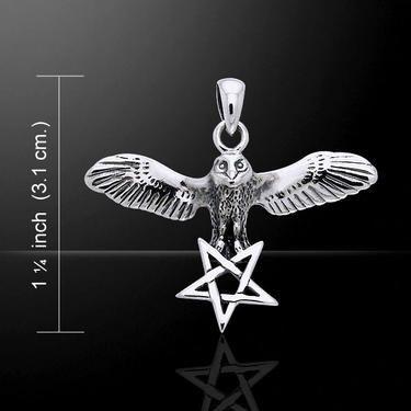 Přívěsek Sova Strážkyně, stříbro Ag 925