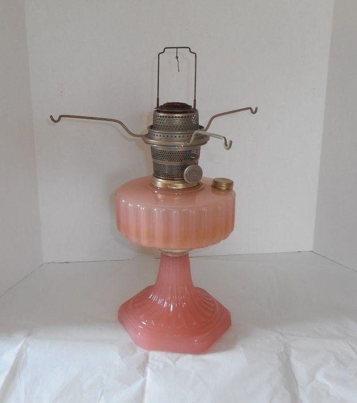 Vintage Aladdin Nu Type Model B Kerosene Oil Lamp In