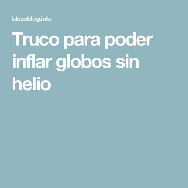 M s de 1000 ideas sobre sin globos de helio en pinterest - Donde conseguir helio para inflar globos ...