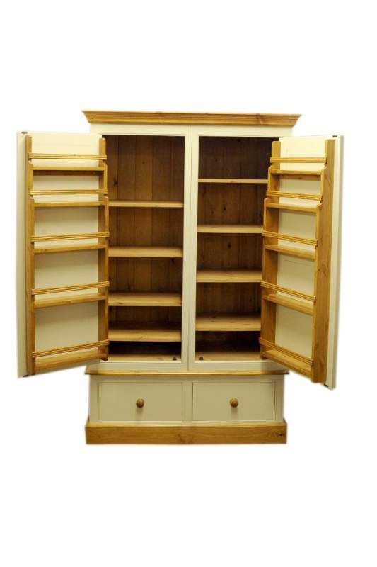 17 best images about larder cupboard on pinterest for Oak kitchen larder units