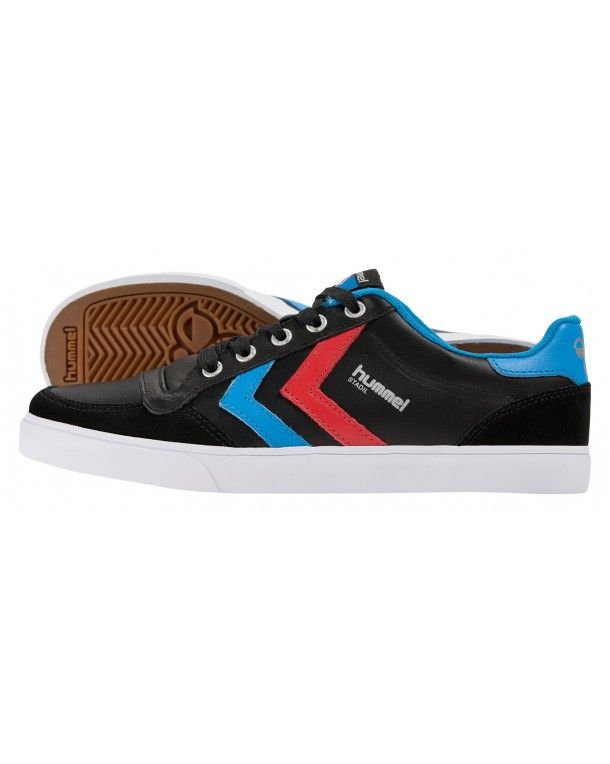 Sl. Sl. Stadil Herringbone Low - Footwear - Low-tops & Sneakers Hummel Stadil Faible Herringbone - Chaussures - Bas-tops Et Chaussures De Sport Hummel GGoCs9gWF