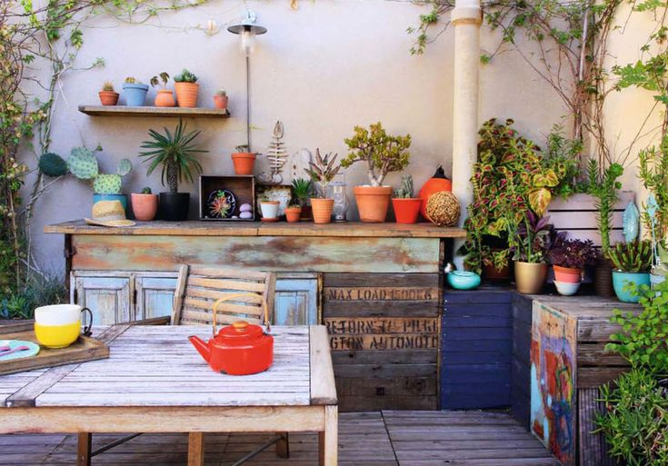 table plantes