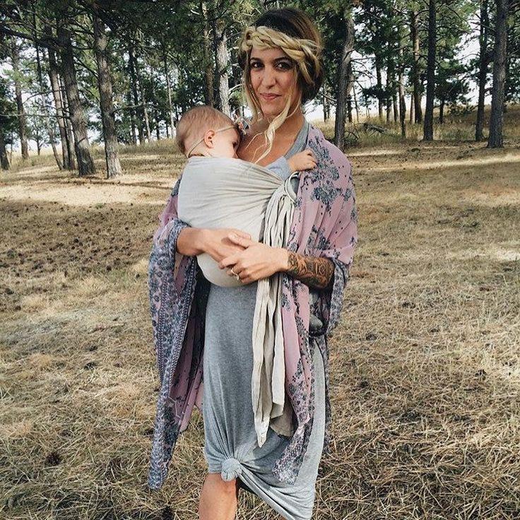 Linen Ring Sling, Namaste #baby-carrier #baby-shower-gift #baby-sling