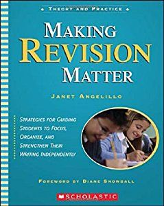 Buy a cheap copy of Making Revision Matter: Strategies for... book by Janet Angelillo. Strategies for guiding students to focus, organize and strengthen their writing independently. Free shipping over $10.