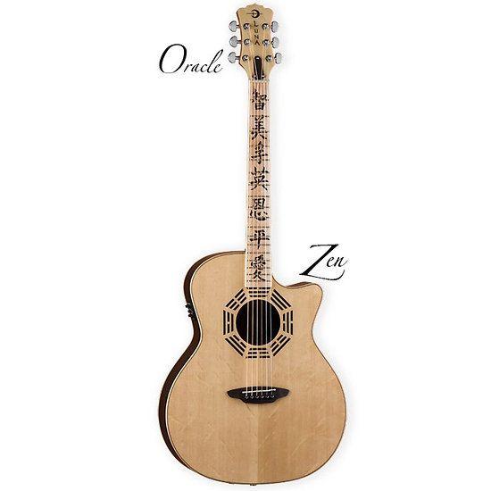 Guitare Electro-Acoustique Oracle Zen - Folk Pan Coupé Ocl Zen