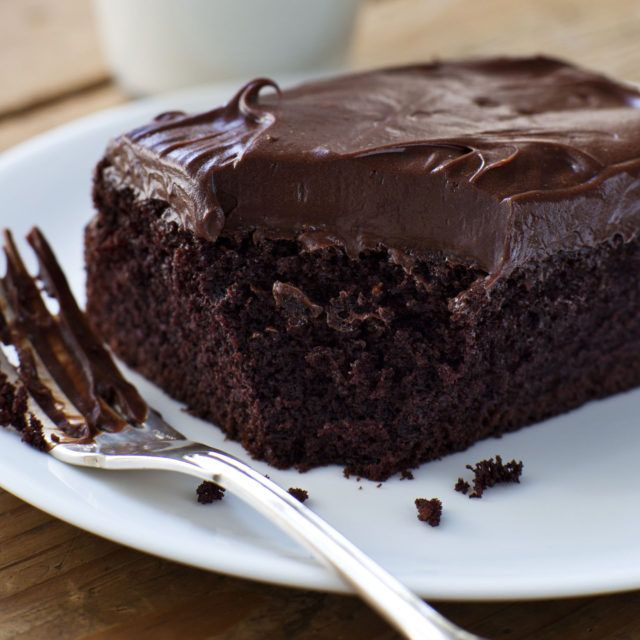 Chocolate Cake with Mocha Frosting - Barefoot Contessa