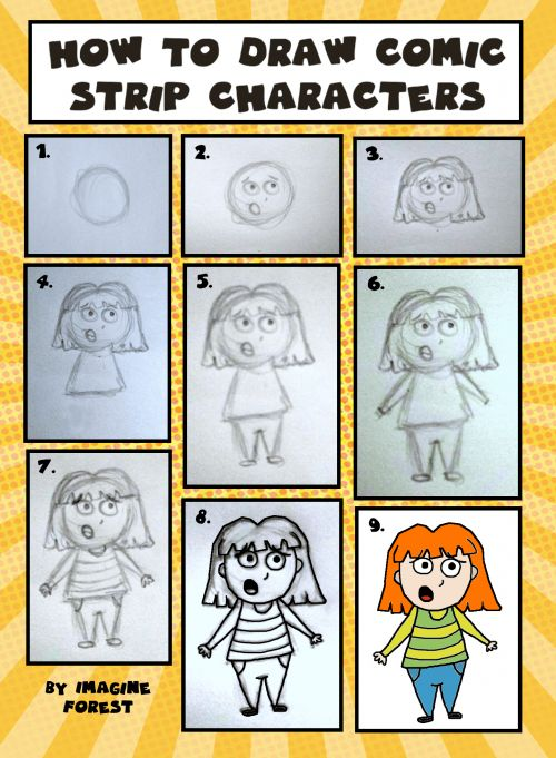 how to create a comic strip in 6 steps with examples
