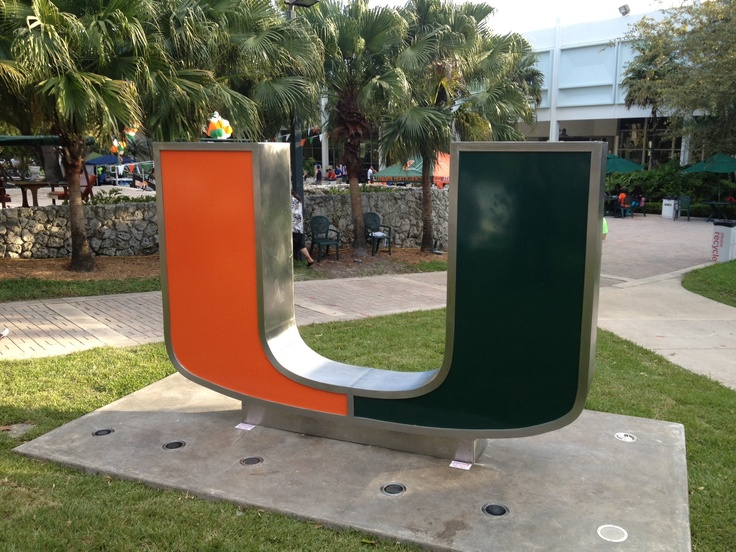 The University of Miami (UM) Student Government and Division of Student Affairs unveiled the new 'U' statue on campus. For more photos, visit http://www.facebook.com/media/set/?set=a.10151119952304611.446282.17767109610=1