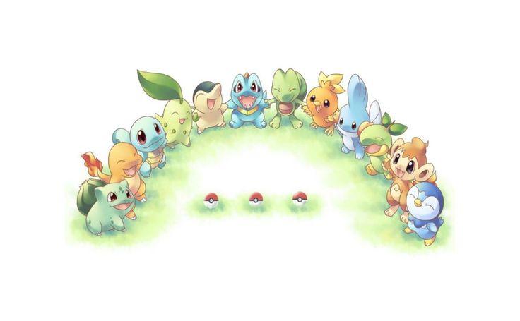 Pokemon Starters HD Wallpaper