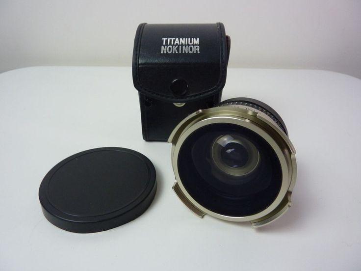 Titanium Super Wide Lens 0.42X AF with Macro for 46mm, 49mm