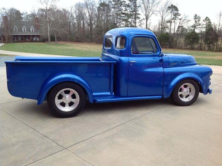 photos of 1949 dodge pickup | 1949 dodge panel and 51 dodge truck