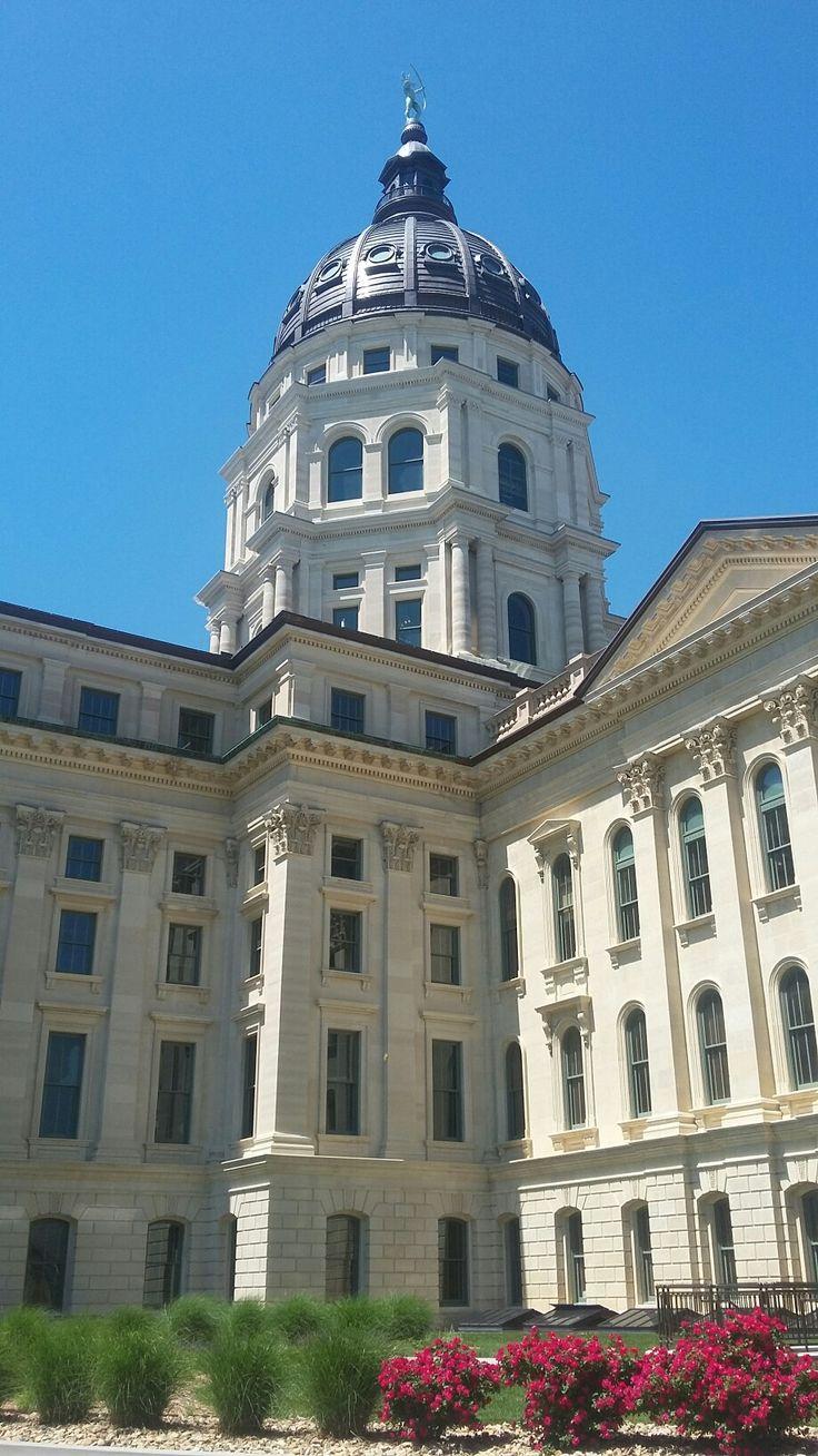 Kansas state capitol topeka ks old buildings topeka