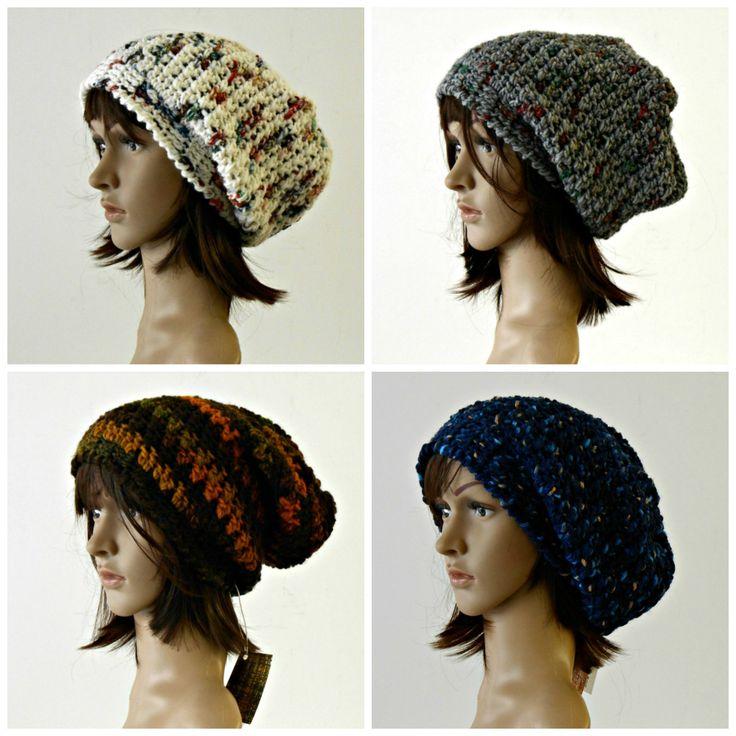 Cappello floscio a uncinetto, berretto frigio, cappellino a crochet stile rasta, cuffia a uncinetto, cappello pesante in lana by cosediisa on Etsy
