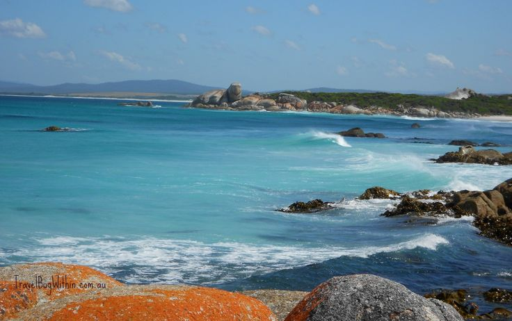 Turtle Rock, Bay of Fires, Tasmania. Simply breathtaking scenery on our four day hiking adventure.