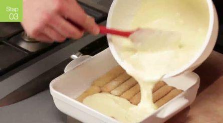 Tropische mangotiramisu - Recept - Allerhande - Albert Heijn