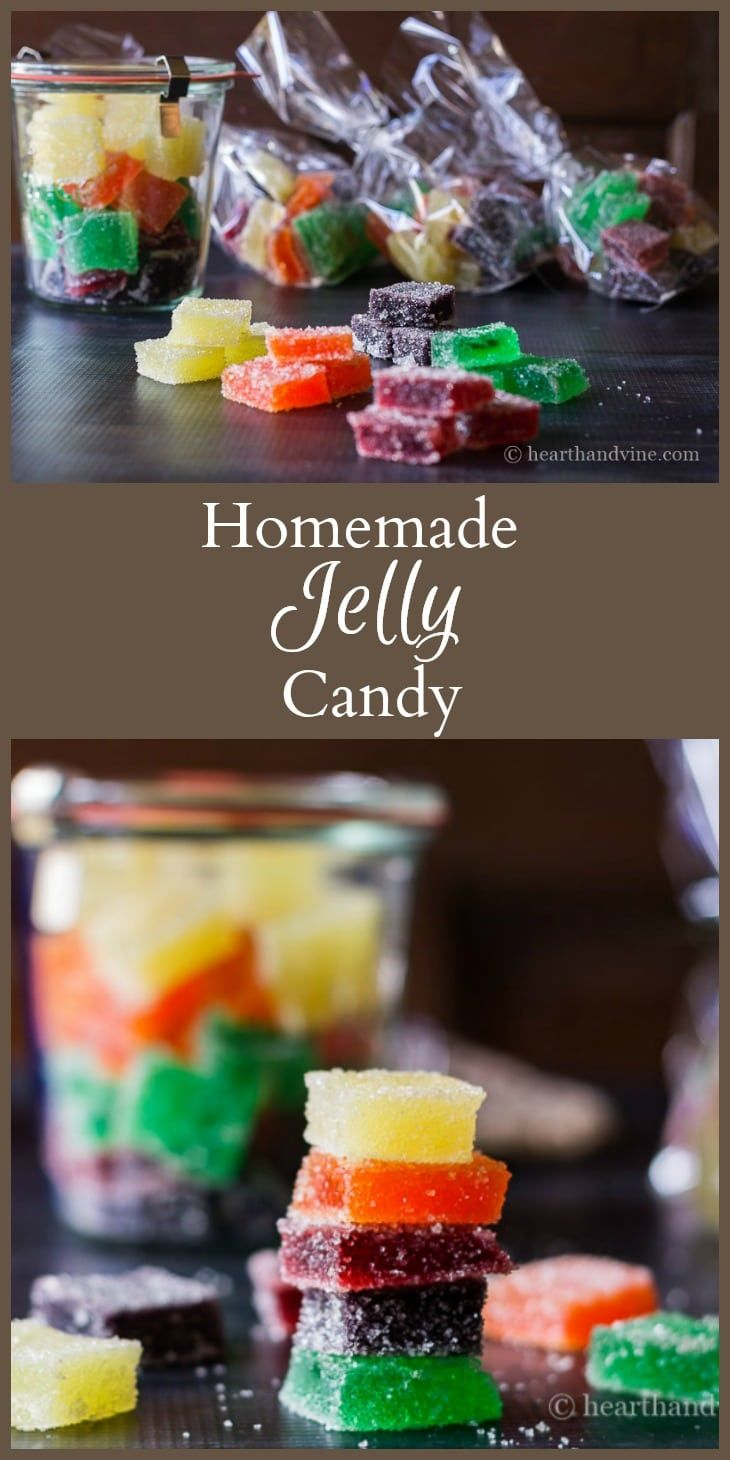 This jelly candy recipe is a fun gift for anyone who has a sweet tooth. Made with gelatin, sugar and flavored drink mix, to make a sweet and tasty treat.