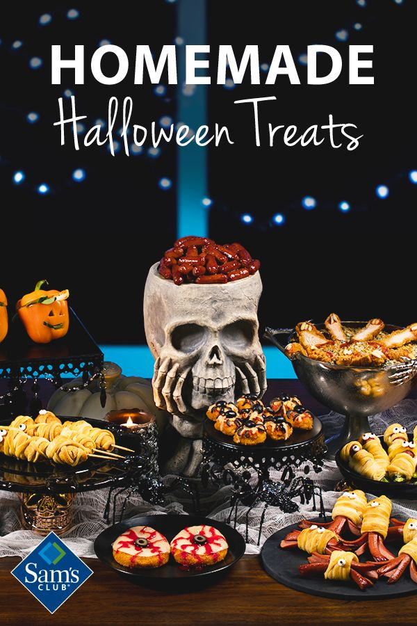 Step up your snack game this Halloween and give out treats they'll be talking about well past Thanksgiving. Visit Sam's Club for what you need to make this the best (and tastiest) Halloween yet!