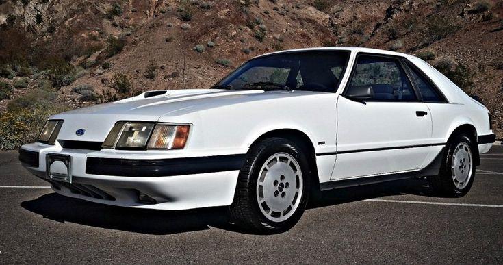 No Reserve Survivor: 1986 Ford Mustang SVO - http://barnfinds.com/no-reserve-survivor-1986-ford-mustang-svo/