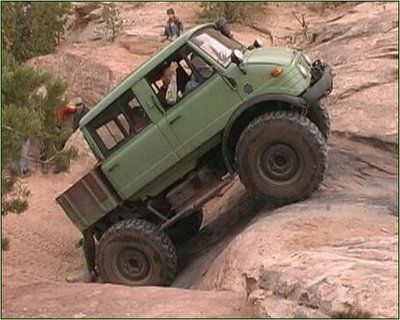 "Unimog Doka (Dokas have faster axles for highway use) ~ M.S.M. Gish ~ Miks' Pics ""Unimog 4x4 by Mercedes Benz"" board @ http://www.pinterest.com/msmgish/unimog-4x4-by-mercedes-benz/"