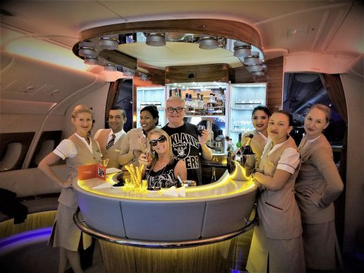 Bar On Emirates Airline Airbu A380 800 Emirates Airline Flight