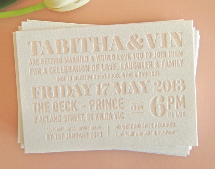 Best Letterpress Wedding Invitations: Letterpress Images On Pinterest