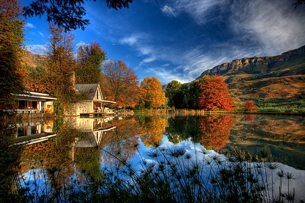 Cleopatra Drakensberg Mountain Farmhouse and Country House Accommodation Giants Castle Drakensberg Mountains