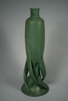 Teco Pottery Vase