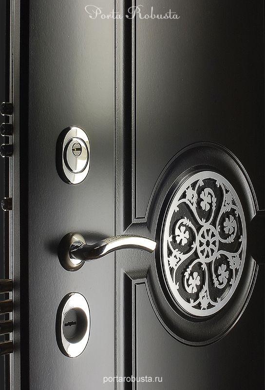 Элитная металлическая дверь в квартиру на заказ в Москве Evolution Beauty