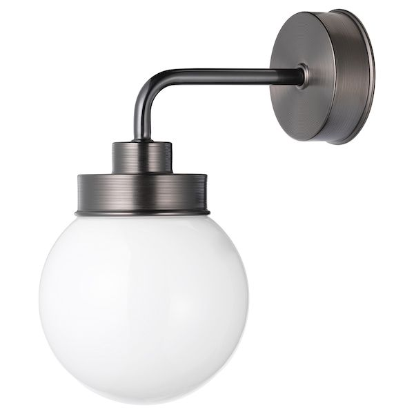 FRIHULT Wandleuchte schwarz IKEA Deutschland | Wandlampe