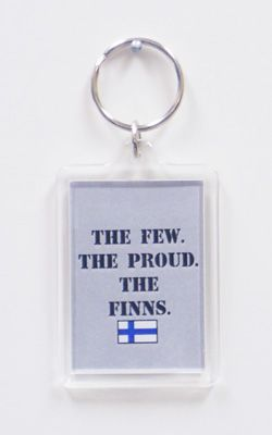 The Few, The Proud, The FINNS Key Chain - $3.00 : Copper World, Your Gift Store with So Much More!