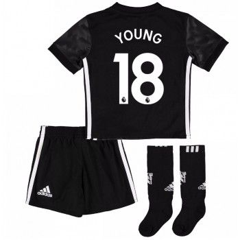 Manchester United Ashley Young 18 kläder Barn 17-18 Bortatröja Kortärmad  #Billiga #fotbollströjor