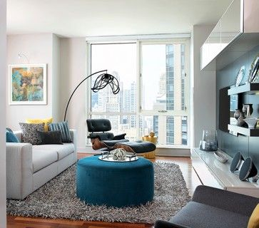 Modern High-Rise - Modern - Living Room - chicago - by Mia Rao Design
