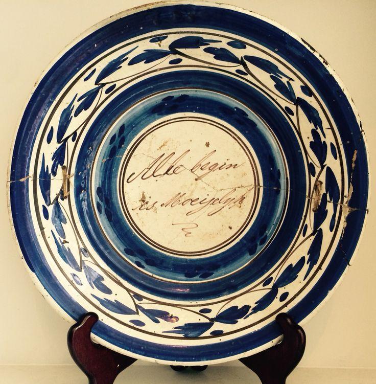 Spreukenbord Friesland ca. 1800