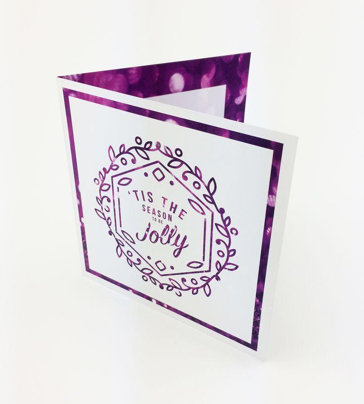Holiday Season Christmas Card – Design + print production