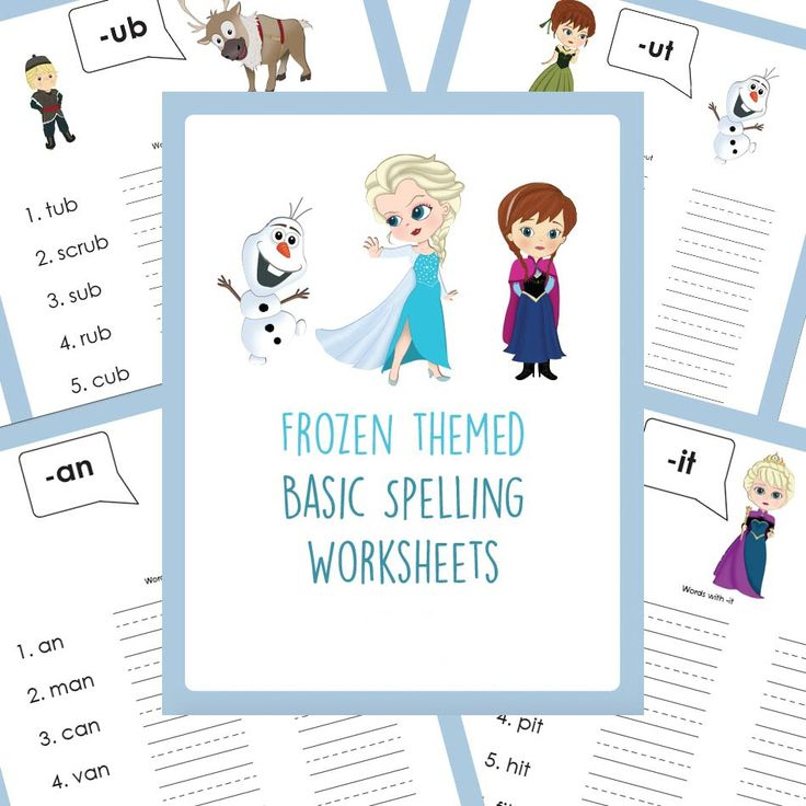 free frozen themed spelling printables educational tools spelling worksheets abc worksheets. Black Bedroom Furniture Sets. Home Design Ideas