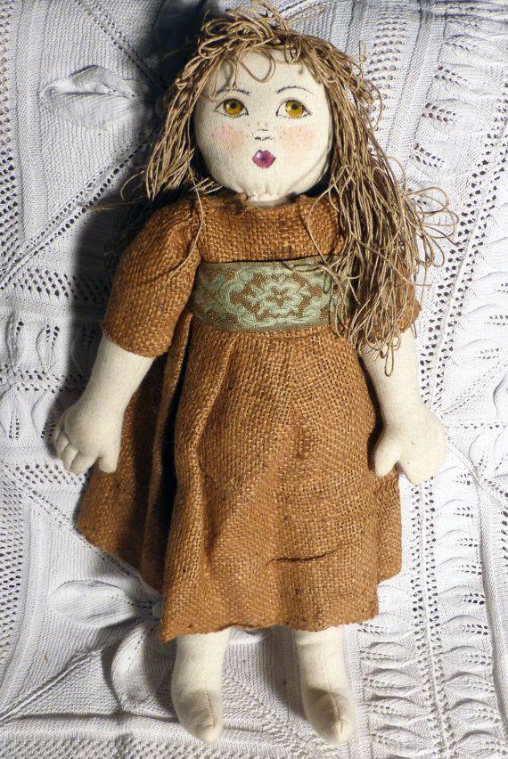 soft doll  1  bambola morbida  beige color