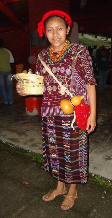 Traje ceremonial de San Rafael Petzal, Huehuetenango.