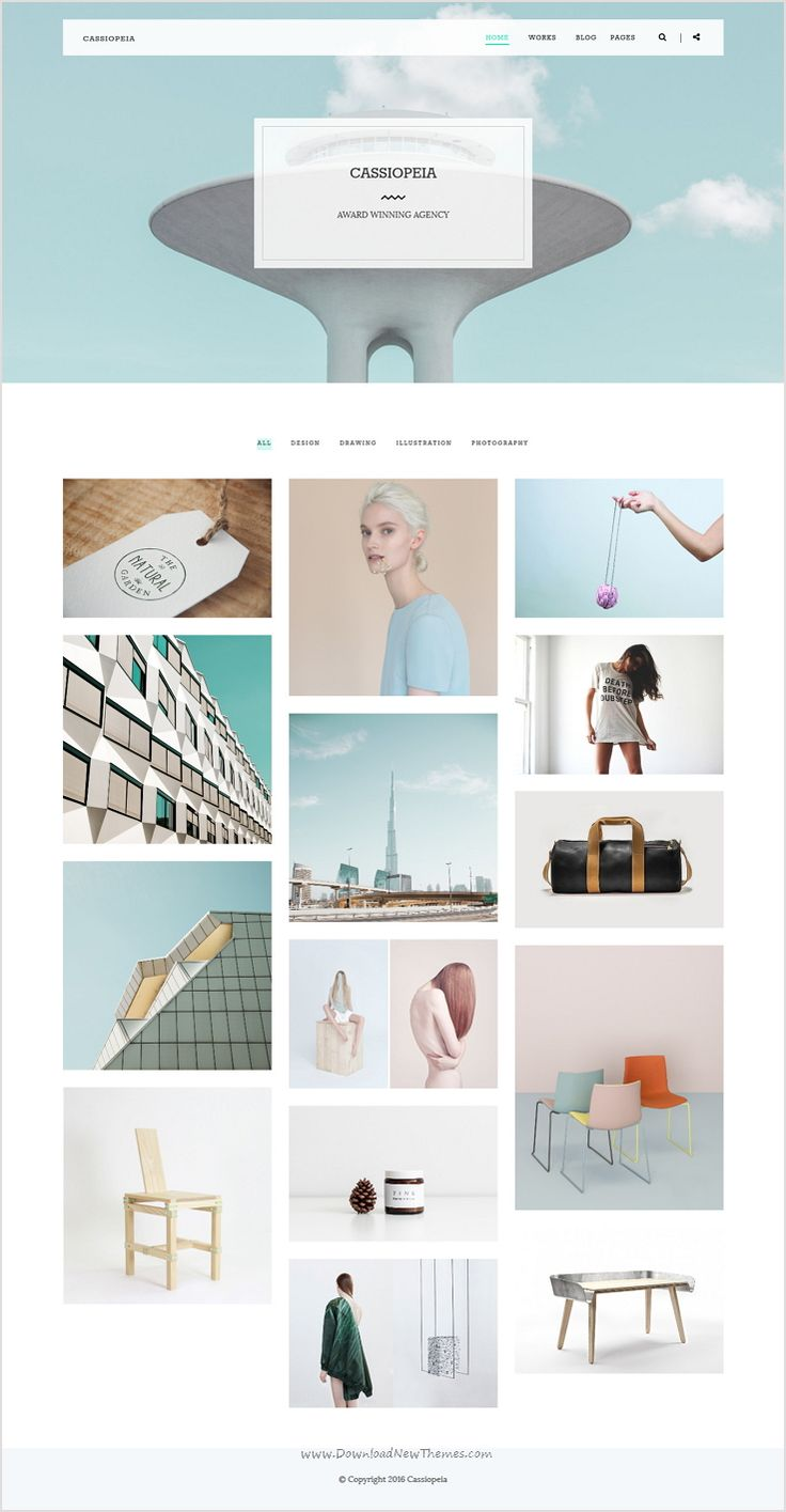 Cassiopeia is a simple, minimal & modern #WordPress #template for #agency, graphics designer, freelancer, photography and eCommerce website download now➩ https://themeforest.net/item/cassiopeia-minimalistic-clean-portfolio-theme/16363523?ref=Datasata