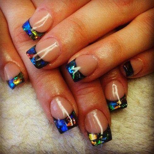 Acrylic nails nail art xmas salon gel nails polish led for Acrylic nail salon