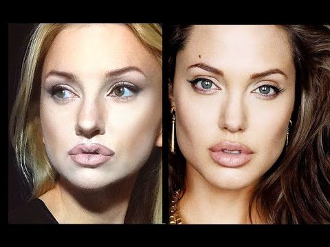 Angelina Jolie make up experiment-tutorial by Aly - MakUp Fashion Women