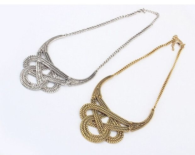 Bohemian Style Silver / Gold Plated Necklace – My Lux Gem