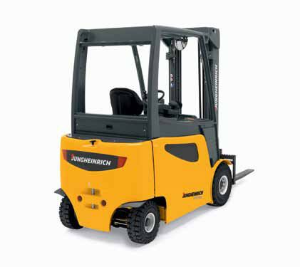 Jungheinrich EFG 425K-S30 Electric Four-Wheel Counterbalanced Trucks (5,000 – 6,500 lbs.) The many advantages of an electric lift truck is embodied in the Jungheinrich EFG series. Learn more about the highly efficient Jungheinrich line from SCMH—where your uptime is guaranteed. https://www.scmh.com/shop/new/jungheinrich-efg-425k-s30-5/