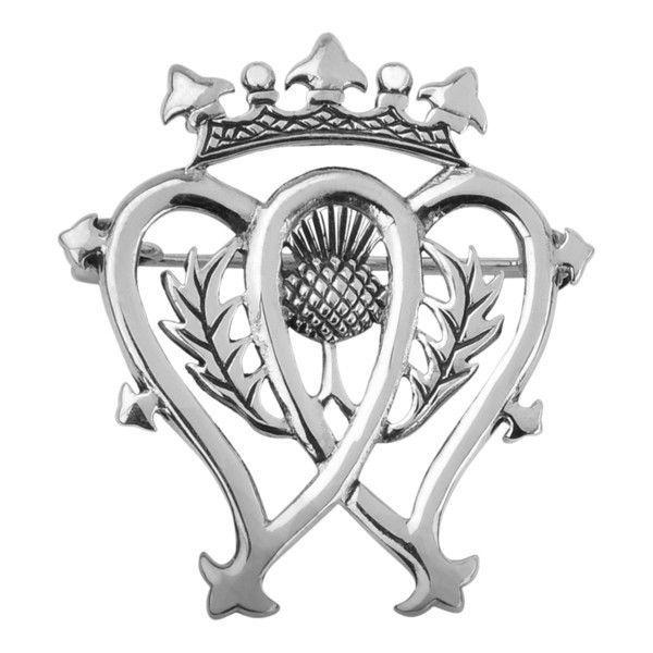 SCOTTISH LUCKENBOOTH SILVER BROOCH 0491  | eBay