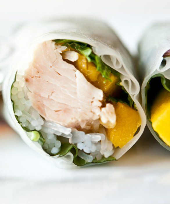 Chicken-Mango Summer Rolls: 10 Things to Do With a Rotisserie Chicken - mom.me