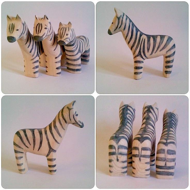 b for Bjørn: Zebras